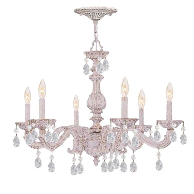 Shabby Chic Chandeliers Intended For Preferred 114 Best Chic Chandeliers Images On Pinterest (View 8 of 10)