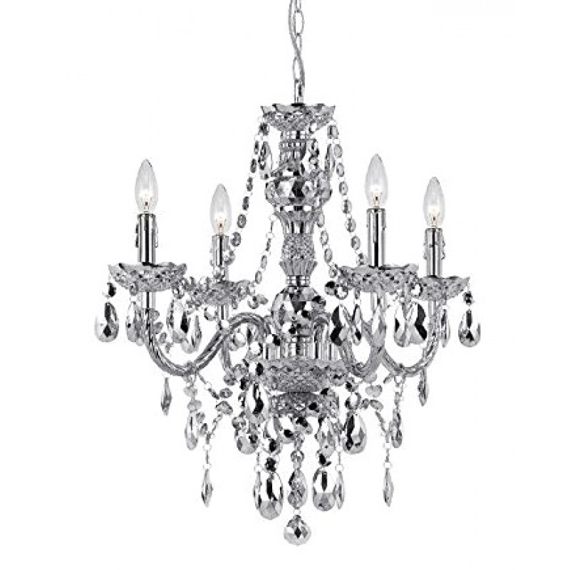 Featured Photo of Silver Chandeliers
