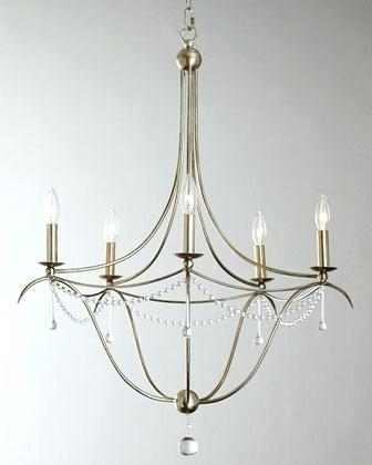 Simple But Elegant Chandeliers Elegant Chandelier In Warm Dining For Well Known Simple Glass Chandelier (View 6 of 10)