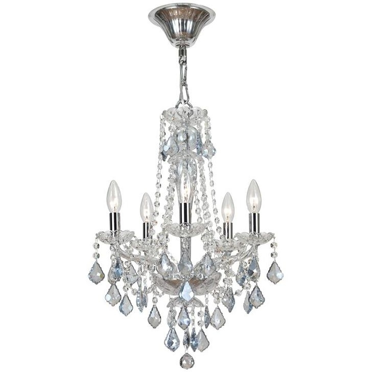 Small Chandeliers Intended For Popular 43 Best Small Chandeliers Images On Pinterest (View 2 of 10)