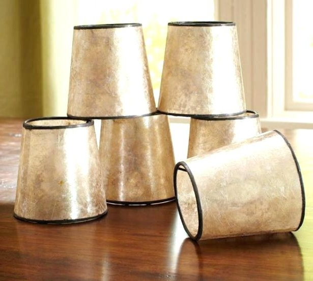 Small Clip On Lamp Shades For Chandelier Saving Space Mini Intended For Most Recently Released Clip On Drum Chandelier Shades (View 10 of 10)