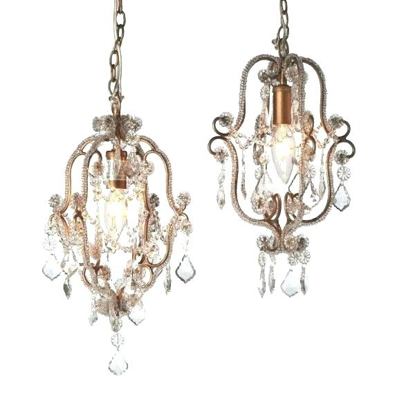 Small Crystal Chandeliers Plus Mini Crystal Chandelier Mini Crystal Pertaining To Recent Mini Crystal Chandeliers (View 10 of 10)