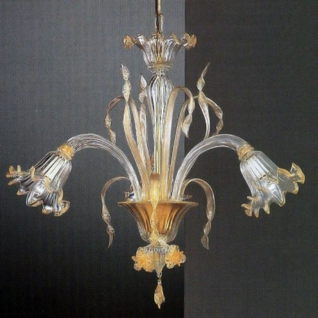 "Small Glass Chandeliers Inside Famous Mori"" Small Murano Glass Chandelier – Murano Glass Chandeliers (View 8 of 10)"