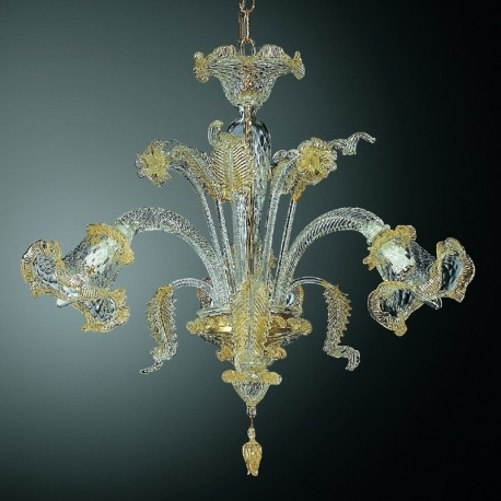 "Small Glass Chandeliers Pertaining To Latest Canal Grande"" Small Murano Glass Chandelier – Murano Glass Chandeliers (View 9 of 10)"