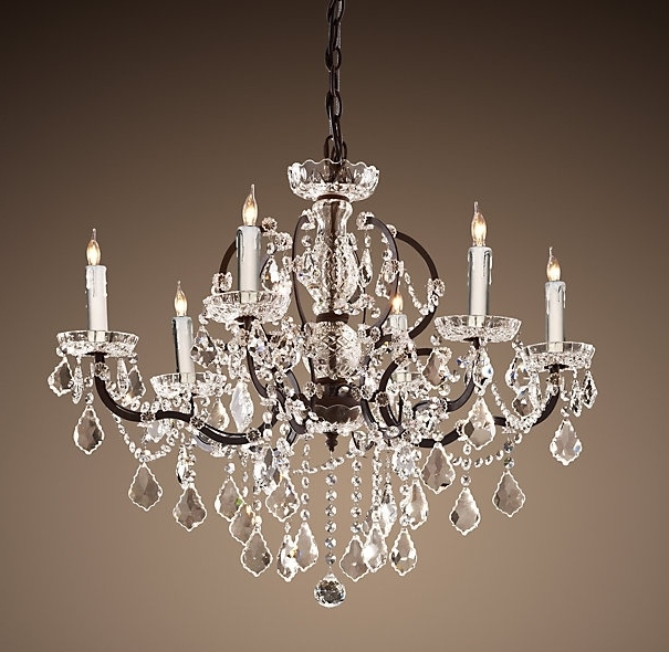 Small Rustic Crystal Chandeliers Intended For Preferred Chandelier (View 7 of 10)