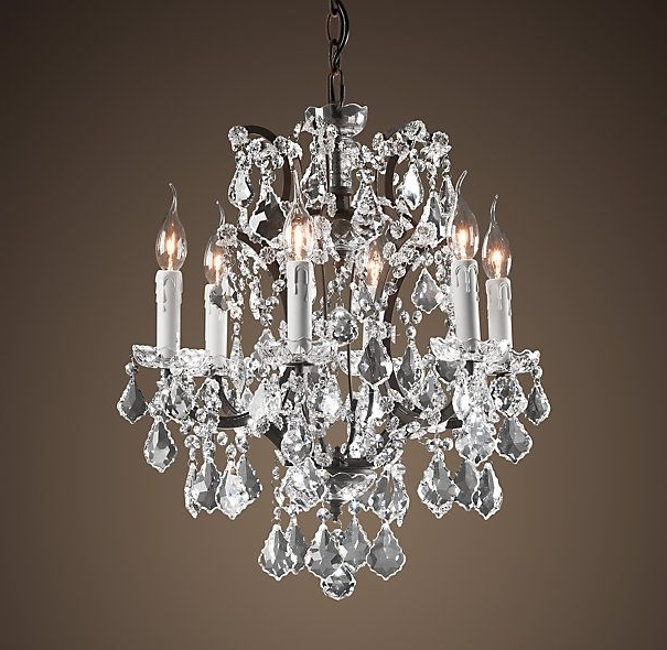 Small Rustic Crystal Chandeliers Within Most Recent Chandelier (View 9 of 10)