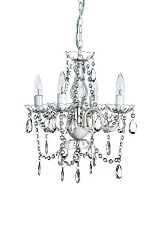 Small Shabby Chic Chandelier Within Favorite The Original Gypsy Color 4 Light Small Shabby Chic Crystal (View 3 of 10)