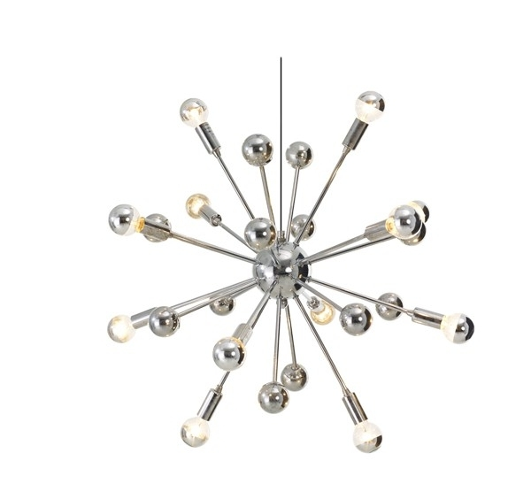 Small Sputnik Chandelier – Buzzmark Inside Well Liked Chrome Sputnik Chandeliers (View 10 of 10)