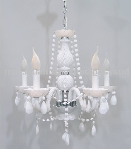 Small White Chandeliers Inside Recent White Chandeliers – Thejots (View 8 of 10)