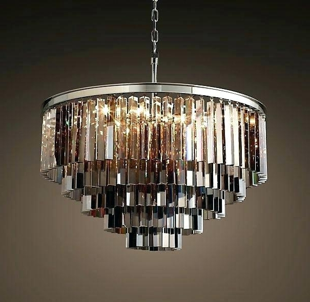 Smoked Glass Chandelier Regarding Most Recently Released Smoked Glass Chandelier And Smoked Glass Chandelier Gorgeous Smoke (View 8 of 10)