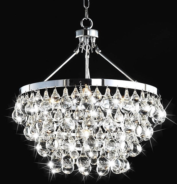 Sparkly Chandeliers In Most Current Lovable Crystal Lighting Chandelier Modern Chandeliers For Awesome (View 6 of 10)