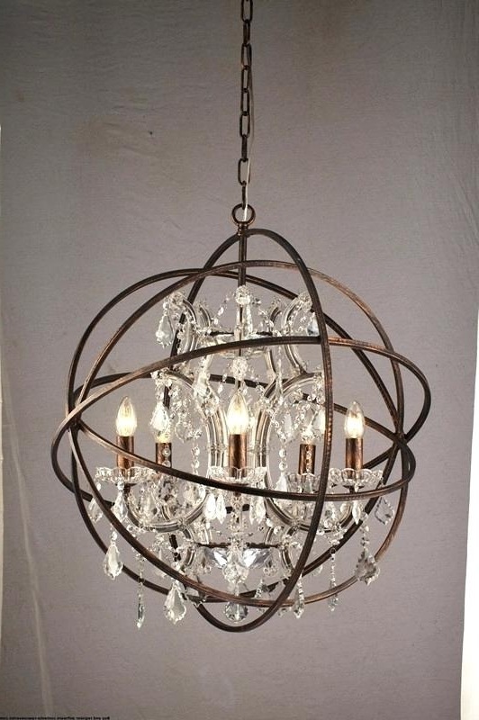 Sphere Chandelier For Most Up To Date Sphere Chandelier Modern Innovative Orb Chandelier Lighting Gold Orb (View 5 of 10)