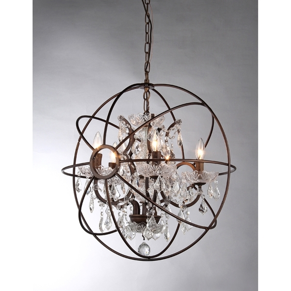 Sphere Chandelier Intended For 2018 Various Exquisite Chandelier Interesting Crystal Sphere Inspiring On (View 7 of 10)