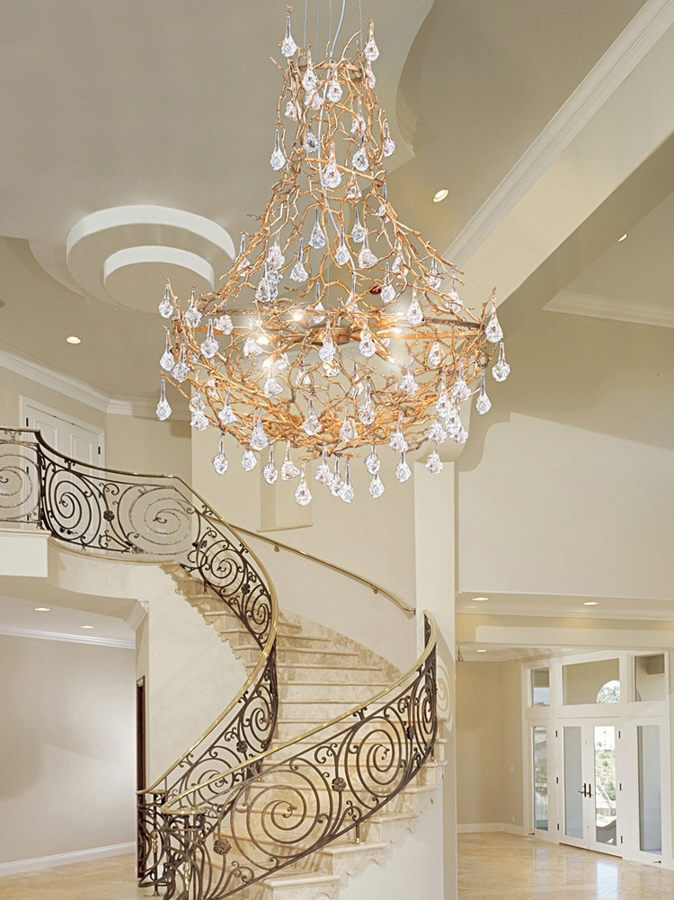 Staircase Chandeliers Regarding Most Up To Date Chandeliers Traditional Venetian Modern Contemporary (View 8 of 10)