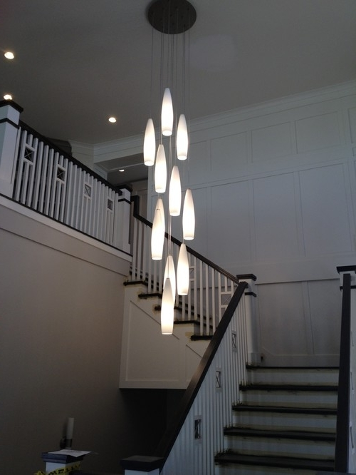 Featured Photo of Stairway Chandeliers