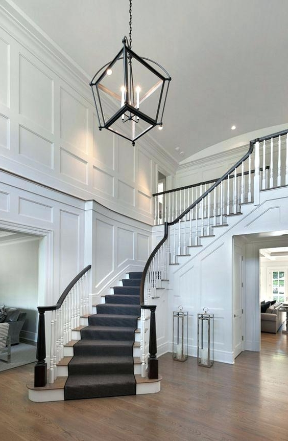 Stairway Chandeliers Pertaining To Trendy Stairway Chandeliers – Futuresharp (View 7 of 10)