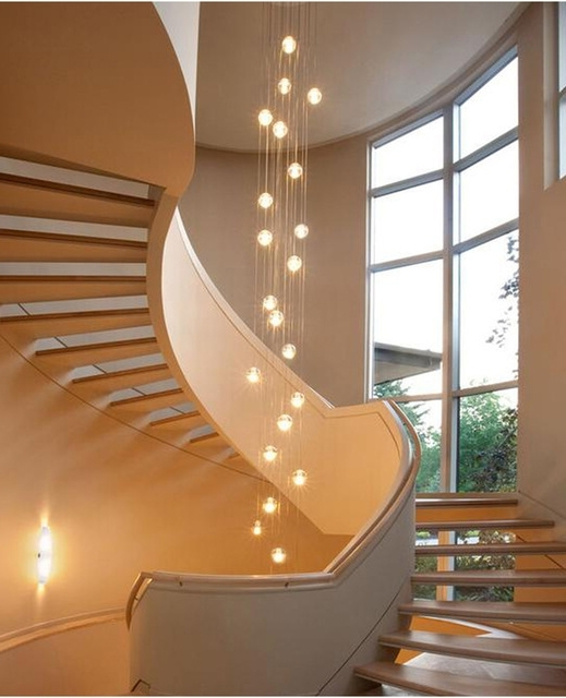 Featured Photo of Stairwell Chandeliers
