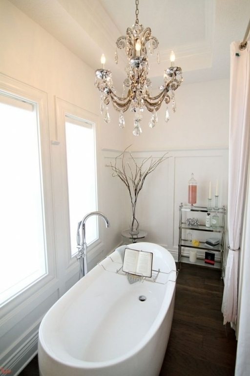 Stunning Chandelier Bathroom Lighting Bathroom Chandelier Lighting Throughout Trendy Bathroom Chandelier Lighting (View 7 of 10)
