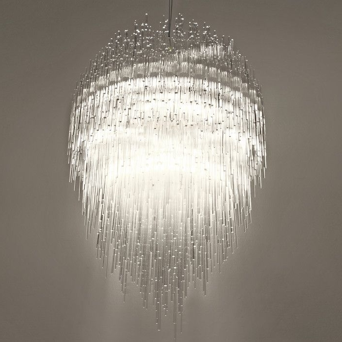 Terzani Iceberg Waterfall Chandelier (View 7 of 10)