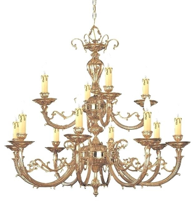 Traditional Brass Chandeliers In 2017 Solid Brass Chandeliers Also Traditional Brass Chandelier Light (View 8 of 10)