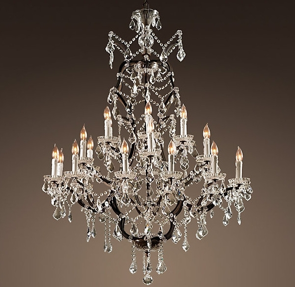 Traditional Chandeliers For Recent Enchanting Traditional Crystal Chandeliers Chic Traditional Crystal (View 6 of 10)