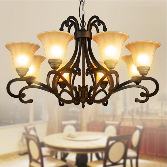Traditional Chandeliers Intended For Well Known Bohemian Large Antique Chandelier Brass Chandeliers Burnt Sienna (View 7 of 10)