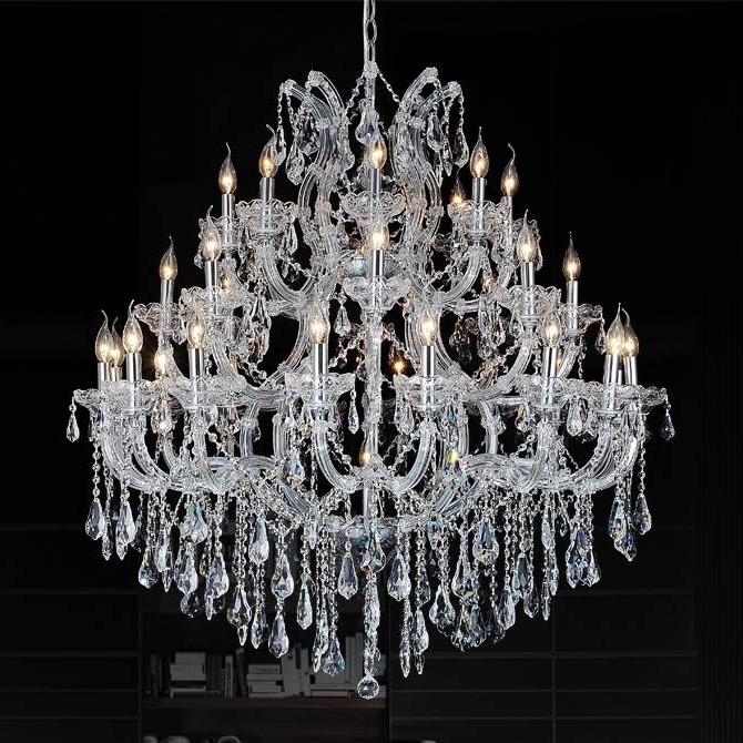 Traditional Crystal Chandeliers With Widely Used Brizzo Lighting Stores (View 7 of 10)
