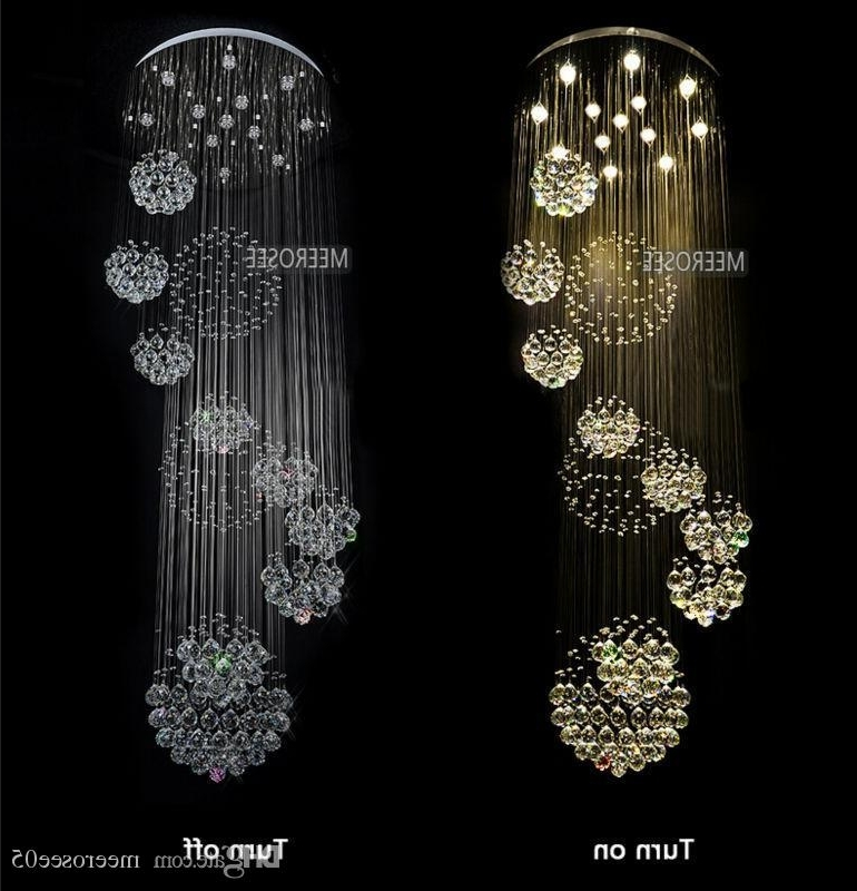 Trendy 2015 Abajur Chandeliers Modern Chandelier Large Crystal Light Intended For Long Modern Chandelier (View 9 of 10)
