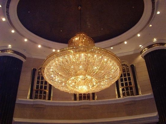 Trendy Chandelier In The Foyer – Picture Of Renaissance Kuala Lumpur Hotel Throughout Hotel Chandelier (View 9 of 10)