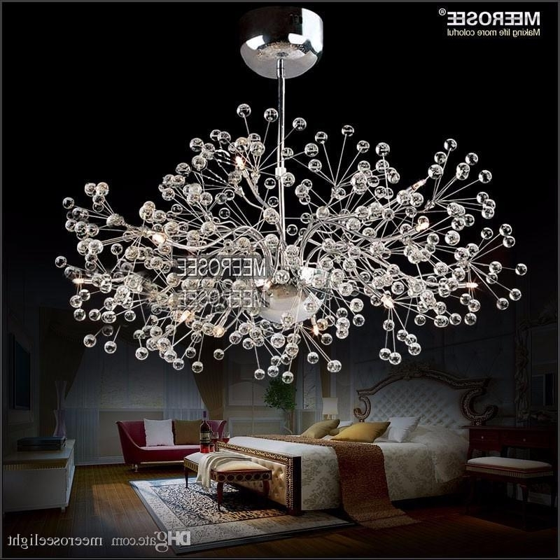 Trendy French Glass Chandelier Inside Vintage Glass Chandelier Lighting Floral French Glass Lustre Light (View 9 of 10)