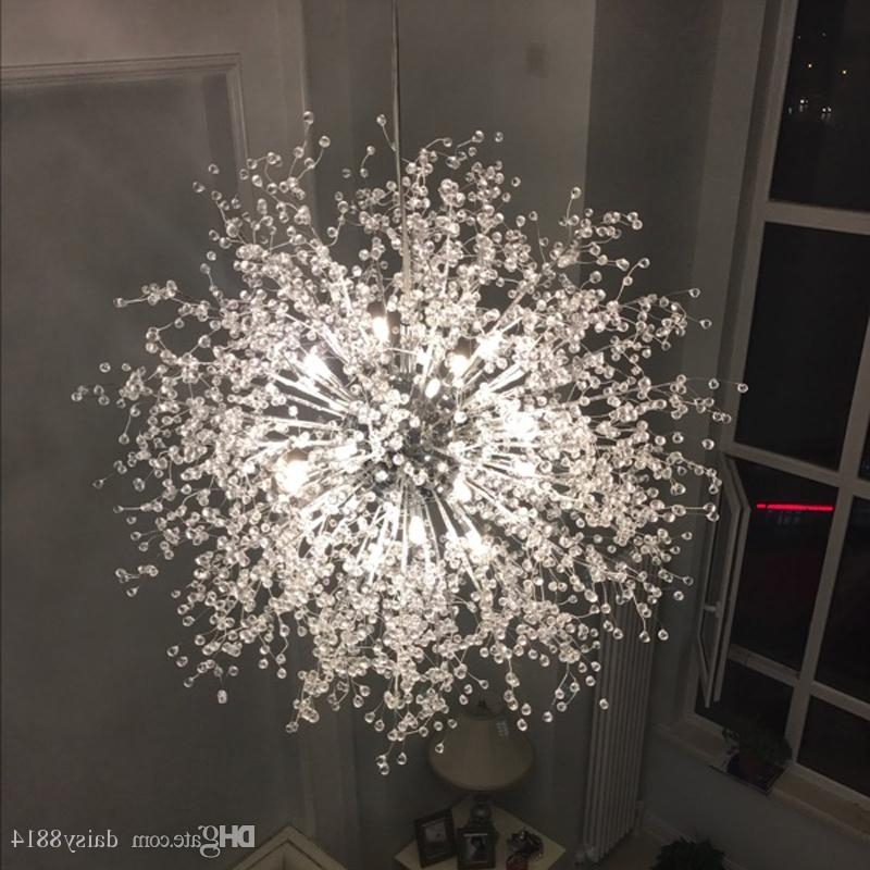 Trendy Modern Chandelier Regarding New Fancy Design Modern Chandeliers Led Light For Home Ac110 240V (View 6 of 10)
