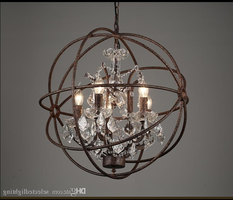 Trendy Orb Chandeliers Inside Rh Industrial Lighting Restoration Hardware Vintage Crystal (View 10 of 10)