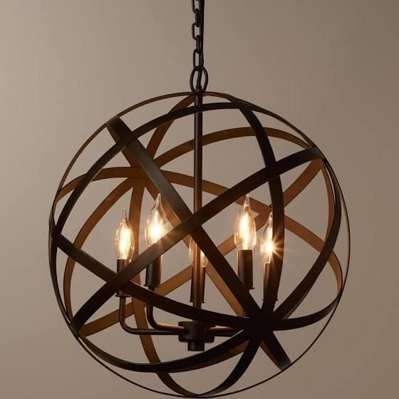 Trendy Small Rustic Chandeliers Throughout Best 25 Round Chandelier Ideas On Pinterest Industrial Light Small (View 10 of 10)