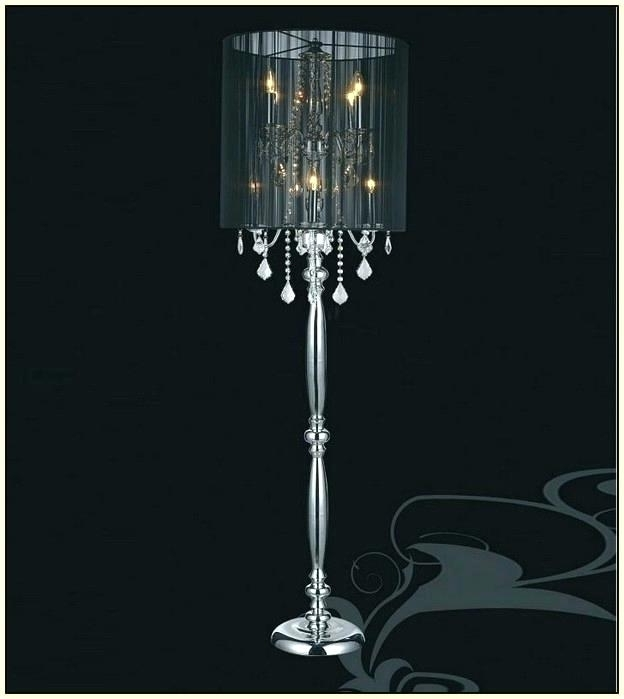 Trendy Standing Chandelier Floor Lamp Chandelier Floor Lamp Standing Intended For Standing Chandelier Floor Lamps (View 10 of 10)