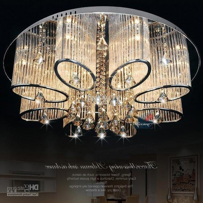 Trendy Stock In Us New Modern Chandelier Living Room Ceiling Light Lamp Pertaining To Modern Chandeliers For Low Ceilings (View 10 of 10)