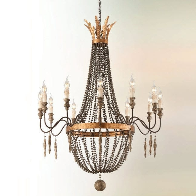 Trendy Traditional Chandelier With Traditional Chandelier / Iron / Incandescent / Handmade – Interior (View 3 of 10)