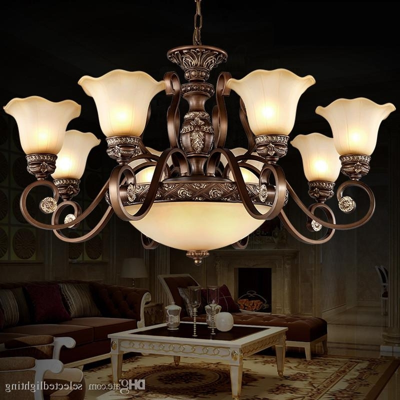 Trendy Vintage Style Chandeliers Within Vintage Style Chandeliers Lighting Remove Control Painting Retro (View 8 of 10)
