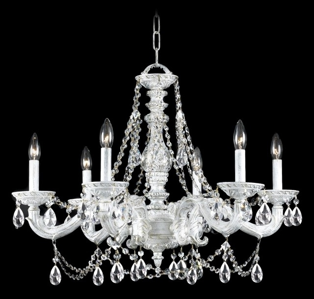Trendy White Chandeliers For Decorate Your Placeusing White Chandelier – Designinyou (View 5 of 10)