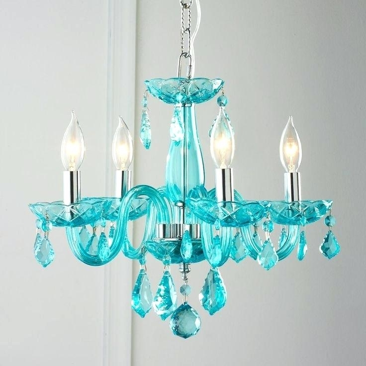 Turquoise Blue Glass Chandeliers With Regard To Popular Turquoise Chandelier Prisms Lighting Ideas Classic Bedroom Crystal (View 10 of 10)