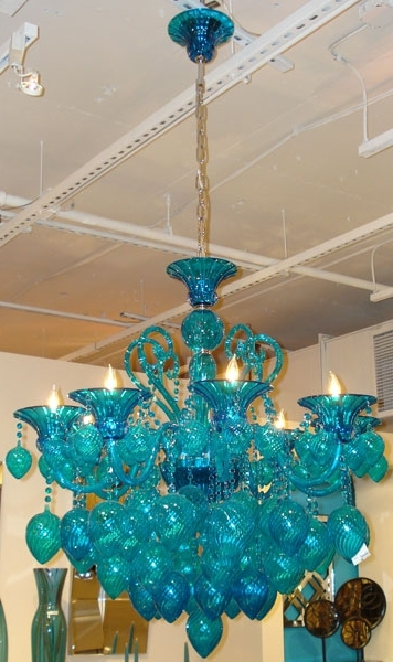Featured Photo of Turquoise Color Chandeliers