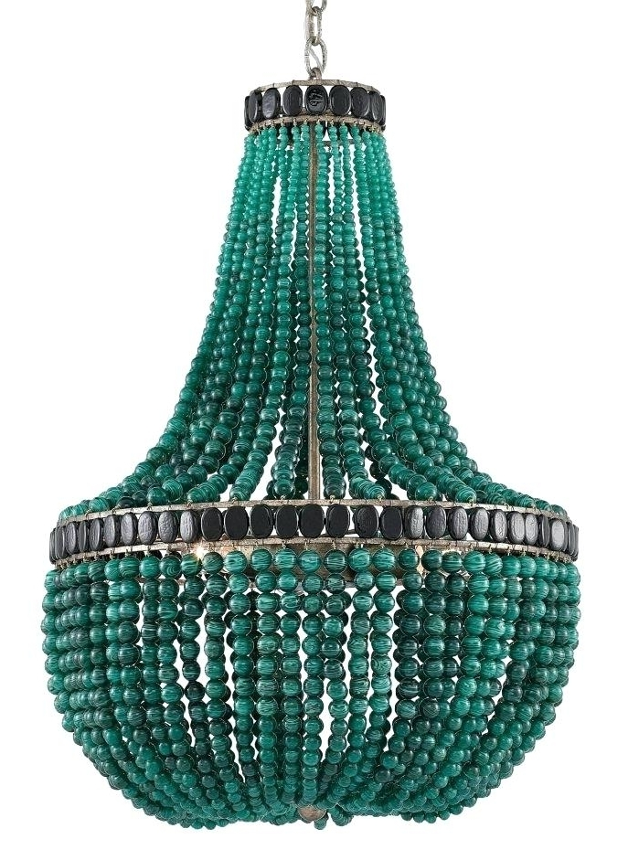 Turquoise Empire Chandeliers In Latest Turquoise Chandelier Chandeliers Turquoise Chandelier P La (View 7 of 10)