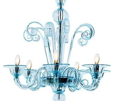 Two Royal Blue Murano Glass Chandeliers For Sale At 1Stdibs Intended With Regard To Favorite Turquoise Blue Chandeliers (View 8 of 10)