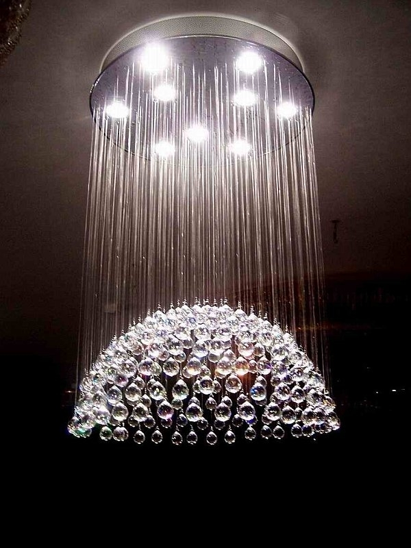 Ultra Modern Chandelier Throughout Most Popular Amazing Chandeliers Modern For Your Furniture Home Design Ideas (Gallery 3 of 10)
