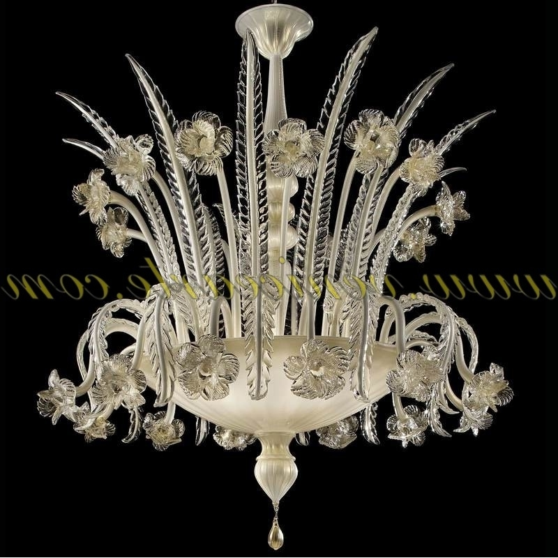Vienna – Murano Glass Chandelier Regarding Favorite Murano Chandelier (View 10 of 10)
