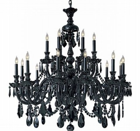 Vintage Black Chandelier Regarding Well Liked Renew Vintage Black Chandelier (Gallery 3 of 10)