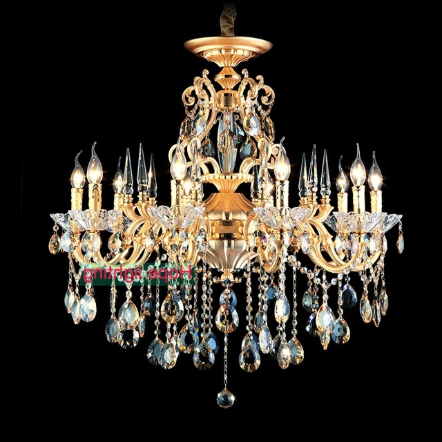 Vintage Chandeliers Throughout Current Bohemian Crystal Chandelier Traditional Vintage Chandeliers Bronze (View 10 of 10)