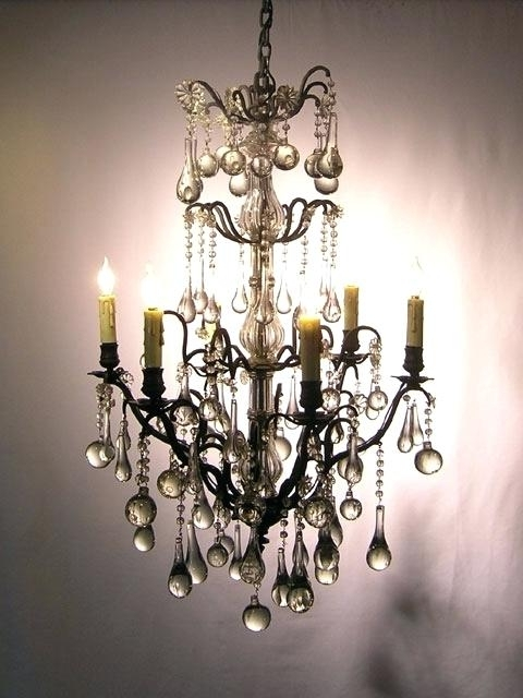 Vintage French Chandeliers Pertaining To Trendy Vintage French Chandeliers Lighting Fixtures Chandeliers Home (Gallery 6 of 10)