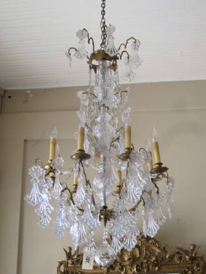 Vintage French Chandeliers With Regard To Fashionable Home Design : Trendy Vintage French Chandelier 004Antique (Gallery 3 of 10)