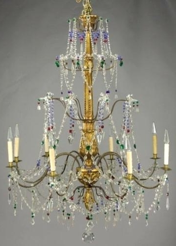 Vintage Italian Chandeliers Pertaining To Well Known Vintage Italian Chandelier – Wecanhelpyou (View 7 of 10)