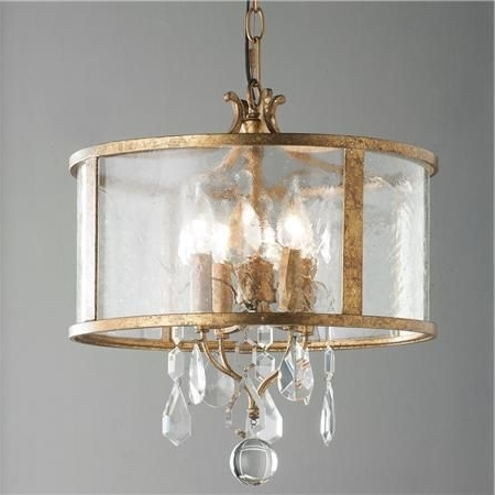 Vintage Modern Crystal Mini Chandelier (Gallery 10 of 10)